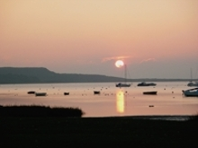 Photo of Mudeford sunset