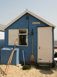 Photo of beach hut